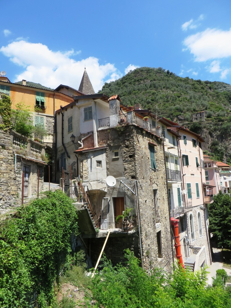 Uno scorcio di Pigna (IM), Alta Val Nervia